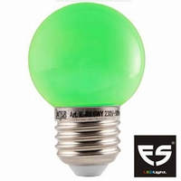 LED Kogellamp E27 Groen