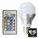LED RGB LAMP E27